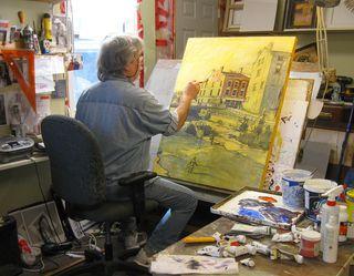 ArtistWorking