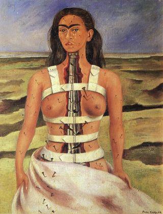 Frida-in-Corsett