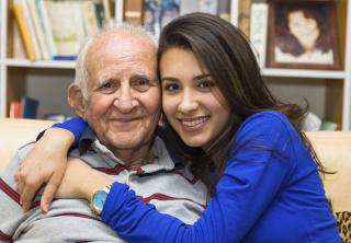 Girl-Grandpa