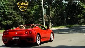Ferrari-in-Bev-Hills