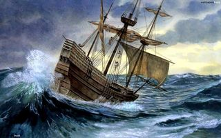 Ship-in-a-Storm